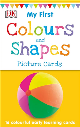My First Colours and Shapes Picture Cards