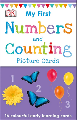 My First Numbers and Counting Picture Cards