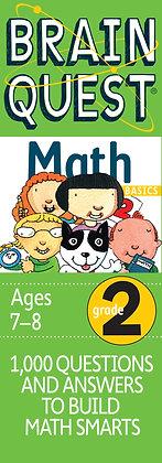 Brain Quest: Grade 2 Math