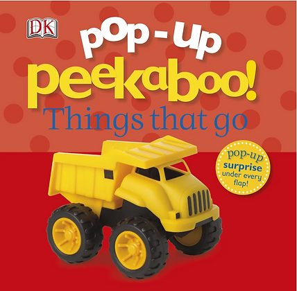 Pop-up Peekaboo! Things That Go