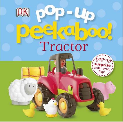 Pop-up Peekaboo! Tractors