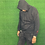 Thumbnail: Black Unisex Basic & Wild Distressed Hoodie