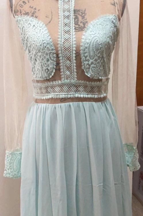 """""""Aqua Sky"""" Dress"""