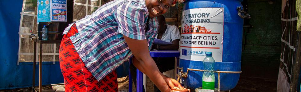 COVID-19 Prevention in Mathare, Nairobi, Kenya