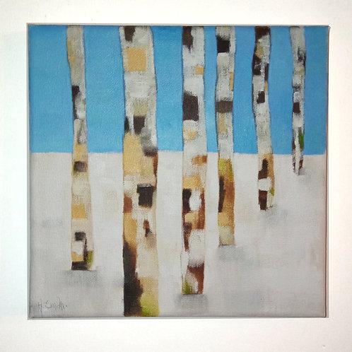 Winter Trees 1 - A Smith