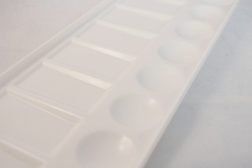 Rectangular 8 Well Plastic Palette