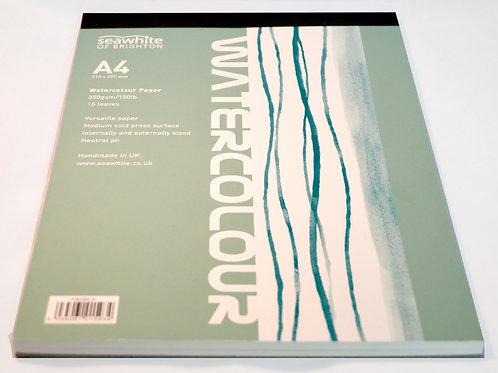 Seawhite Watercolour Paper Pad A4