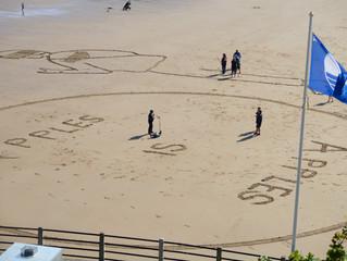 Sand Art Day, King Edward's Bay, Tynemouth