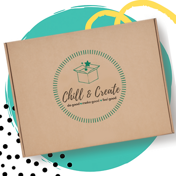 Chill & Create - Art Materials box