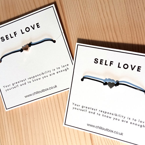 Self Love - Heart bracelet