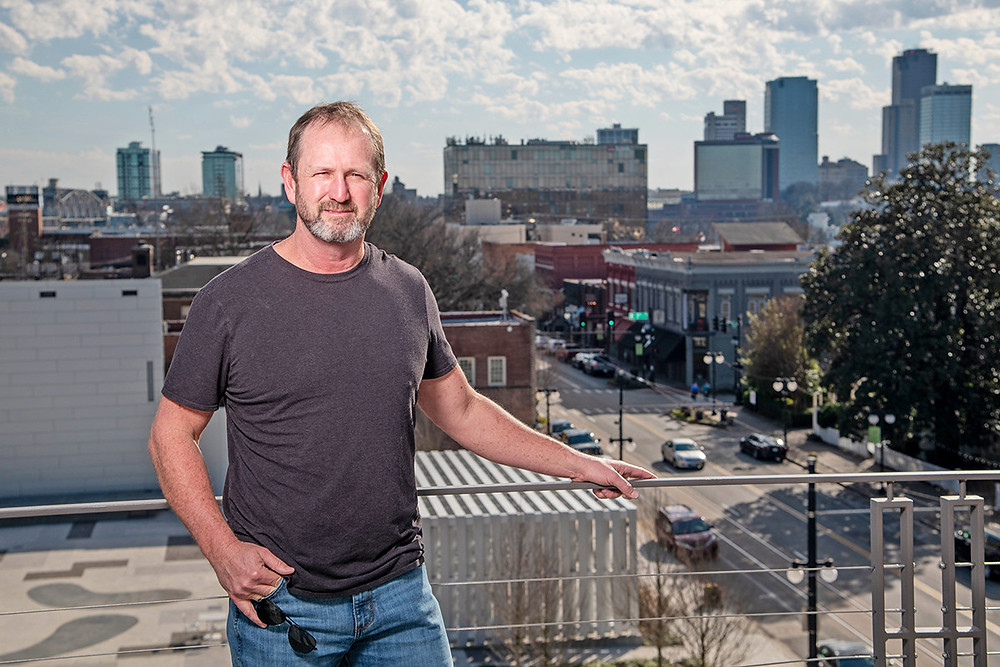 Roger Coburn Jr. owns more than 6 acres scattered across parts of nine blocks in downtown North Little Rock. (Jason Burt)