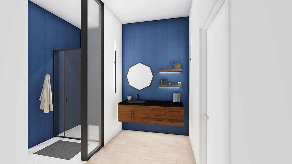 Interior renderings capture the vision for the Argenta townhomes at Sixth and Olive in North Little Rock. (Taggart Architects)