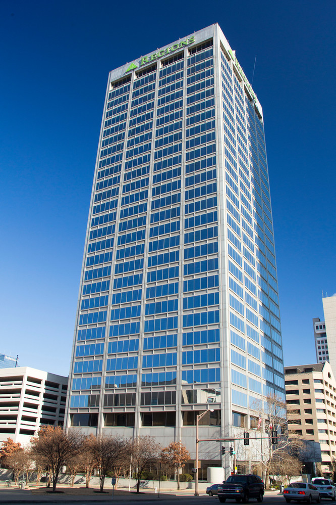 Regions Center wins TOBY Award Building Exceeds 91% Occupancy