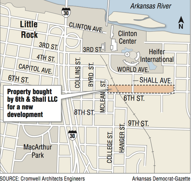 East LR area sized up as River Market echo