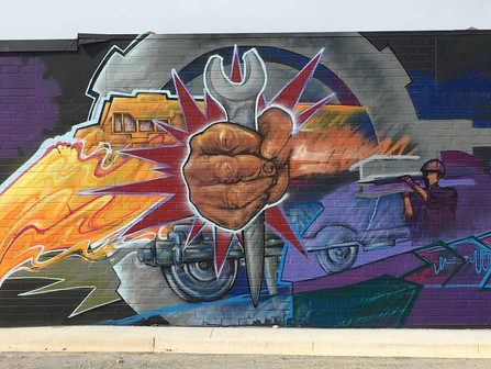 6th Street Mural Commissioned
