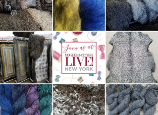 Welcome to Vogue Knitting Live! New York Jan 12th-14th.