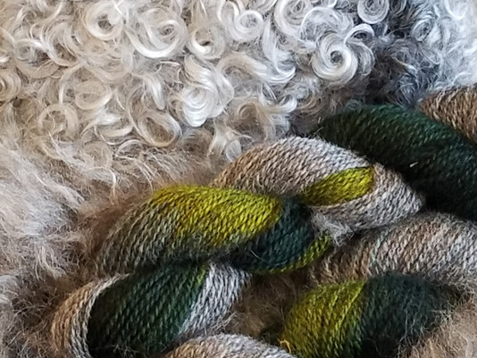 Spring colours - New yarns!