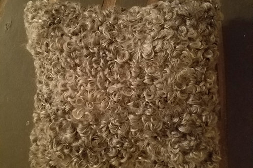 "Gotland Sheepskin Pillow - 14"" x 14"""