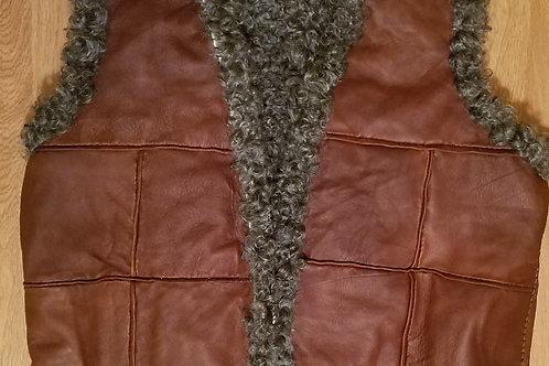 Sheepskin Vest - Leather X Gotland Sheep