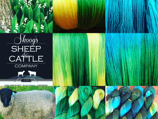 Memorial Day Weekend - Hand-dyed Summer Yarns