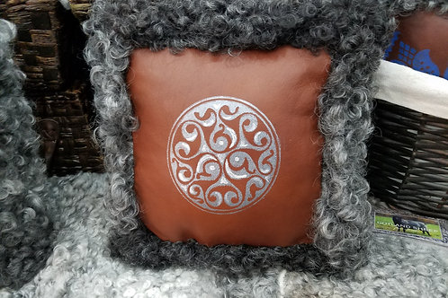 Handmade Gotland Sheepskin pillow for Ravelry and interior design with Great deals for you. Tips for free.