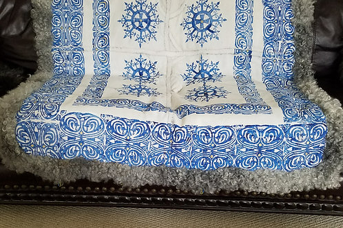Sheepskin Blanket Blue Dragon´s