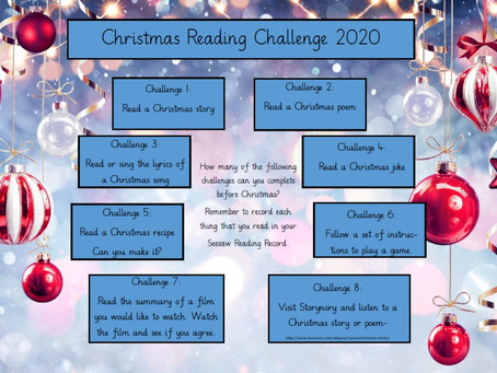 KS2 Christmas Reading Challenge