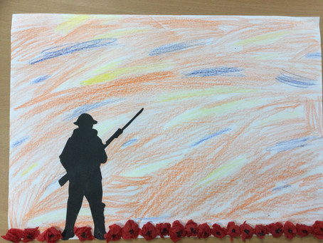 Year 4 Remembrance Day Art
