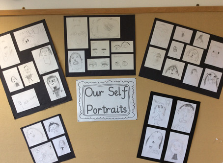 Year 1 Self Portraits
