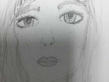 Year 6 Self-portraits
