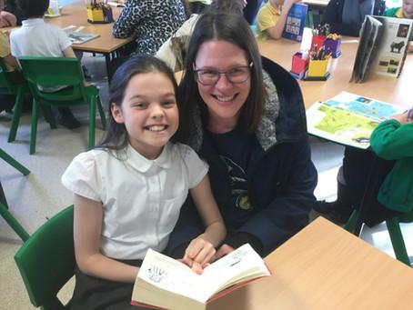 World book week - reading with children