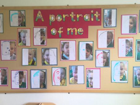 Year 1 Portraits