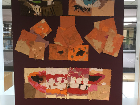 Year 2 collage