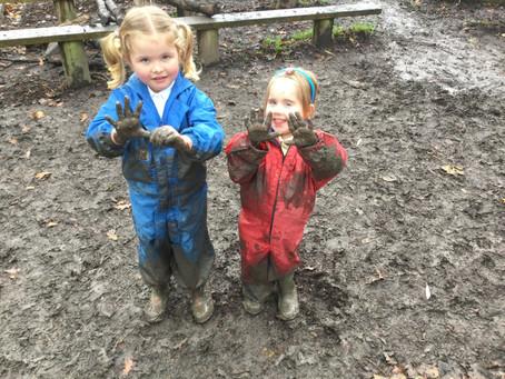 Nursery outdoor fun!