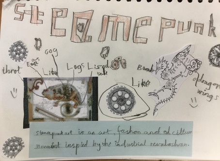 Year 4 Steampunk