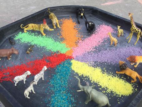 Nursery Rainbow Colours