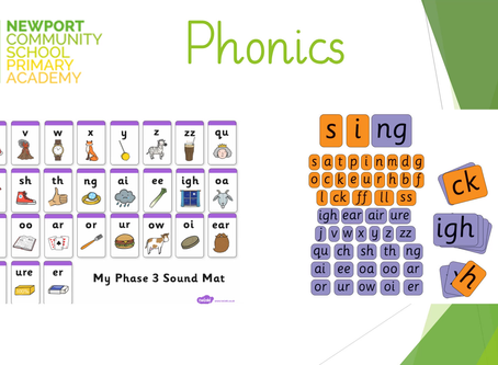 Year 1 phonics support video