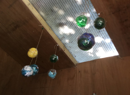 Reception  3D sphere planets