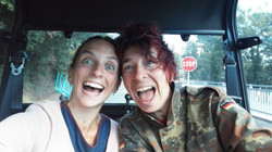 With Chiara: crazy guides