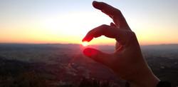 Catching the sun :)