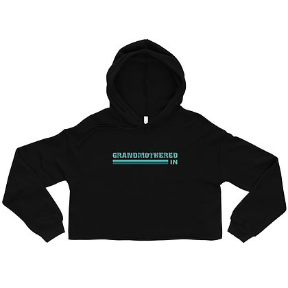 Crop Hoodie- Grandmothered IN- Solid