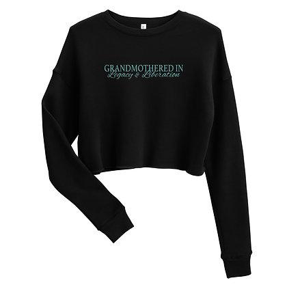 Crop Sweatshirt- Grandmothered IN L&L