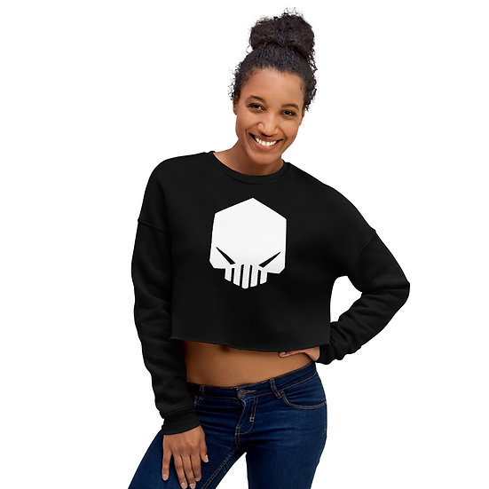 Ladies Crop Sweatshirt