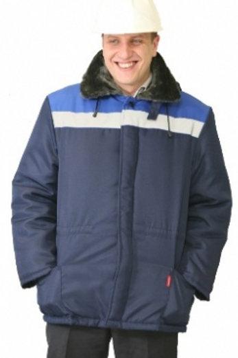 Куртка мужская утепленная ткань смесовая