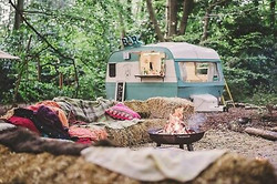 caravan setting