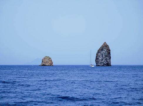 Segeltörn Äolische Inseln