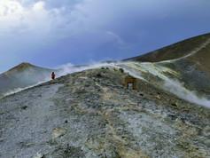 Segeln Äolische Inseln - Vulkanwanderung