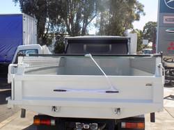 Pull Tarp rear view