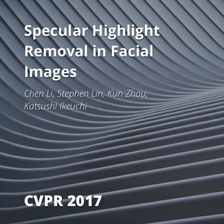Specular Highlight Removal in Facial Images