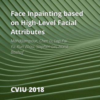 Face Inpainting based on High-Level Facial Attributes